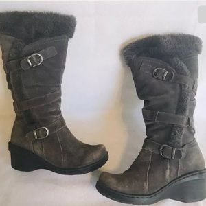 Bare Traps Cabalina Sherpa Boots